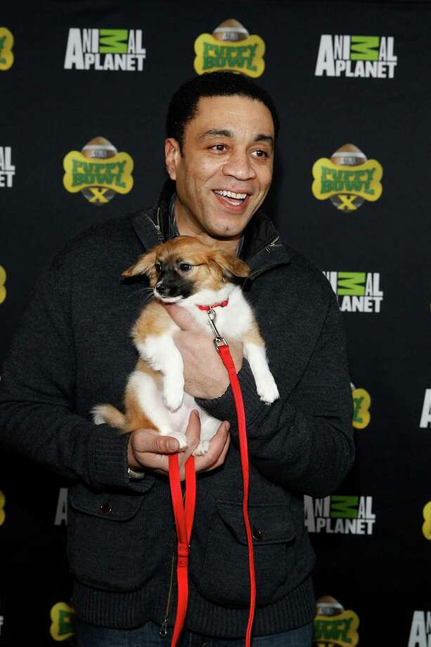 IMAGE DISTRIBUTED FOR DISCOVERY COMMUNICATIONS - Actor Harry Lennix attends the  Puppy Bowl X at the Discovery Times Square Experience in New York on Tuesday, Jan. 28, 2014. (Mark Von Holden/AP Images for Discovery Communications) Photo: Mark Von Holden, Associated Press / AP Images