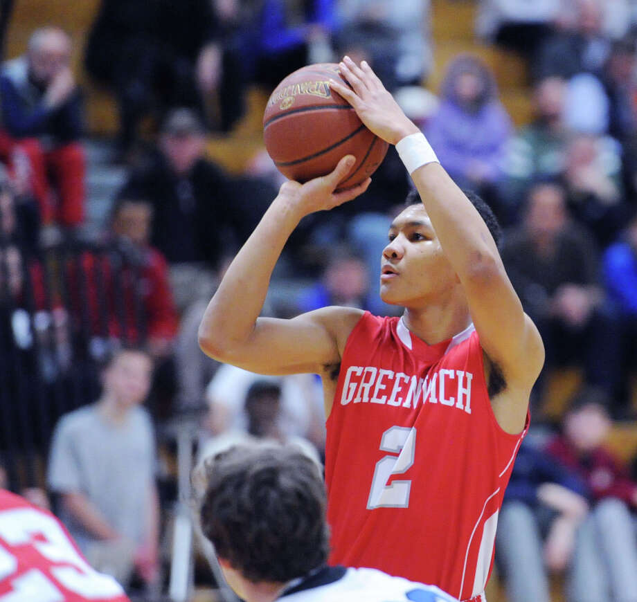 (2) Byrd is the word. C.J. Byrd of Greenwich was arguably the hottest player in the month of January. He averaged more than 23 points a game to start 2014. On Friday, the senior sharpshooter scored 21 points in the Cardinals 60-49 win over Darien. Greenwich is 12-0 Photo: Bob Luckey / Greenwich Time