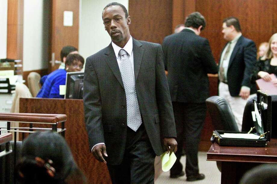 Exonerated former inmate Michael Green left the courtroom in 2010 with a document stating his innocence in a 1983 aggravated rape he did not commit. Green was imprisoned for 27 years. Photo: Eric Kayne, Freelance / Freelance