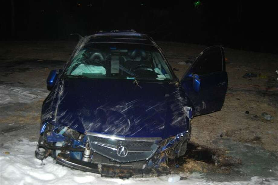 Glenville police arrested a Schenectady man after a chase and crash on Route 50 Saturday morning. (Glenville police)