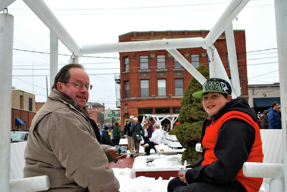 Were you Seen sampling different soups and chowders at the 16th Annual Chowderfest during Winterfest Weekend in Saratoga Springs on Saturday, Feb. 1, 2014? Photo: Silvia Meder Lilly
