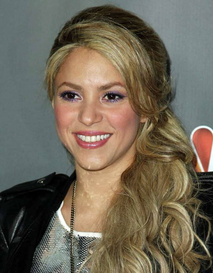 "Shakira arrives at ""The Voice"" season 4 red carpet event at the House of Blues on Wednesday, May 8, 2013 in Los Angeles. (Photo by Matt Sayles/Invision/AP) Photo: Matt Sayles / Invision"