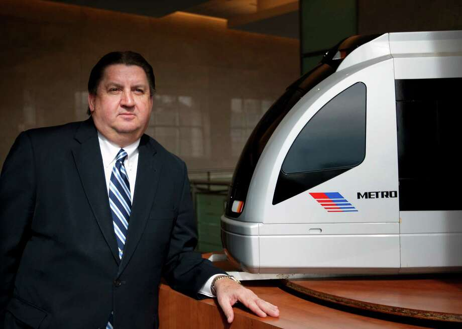 Interim CEO Tom Lambert, who also served as Metro's top cop, is preparing to permanently fill the position at a juncture when Metro has begun the expansion and evolution of rail travel in Houston. Photo: Cody Duty, Staff / © 2014 Houston Chronicle
