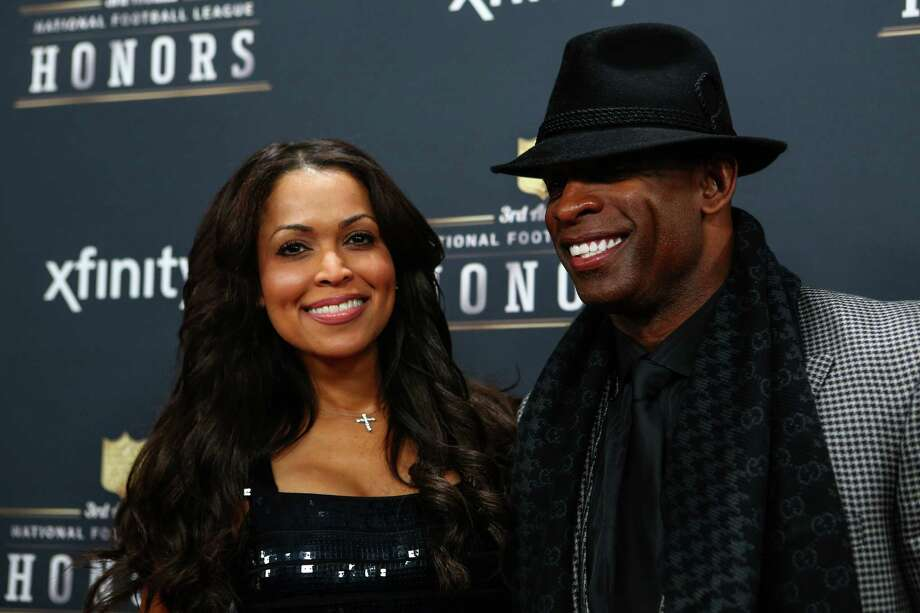 Deion Sanders and Tracey Edmonds walk the red carpet before the NFL Honors awards ceremony on Saturday, February 1, 2014 at Radio City Music Hall in New York City. Photo: JOSHUA TRUJILLO, SEATTLEPI.COM / SEATTLEPI.COM