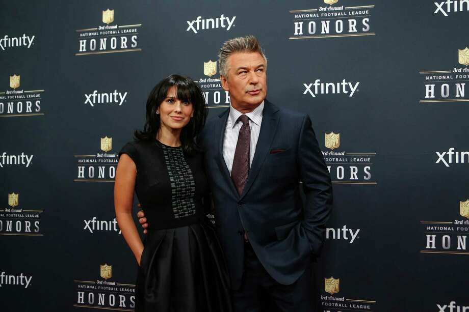 Actor Alec Baldwin and his wife, Hilaria Thomas, walk the red carpet before the NFL Honors awards ceremony on Saturday, February 1, 2014 at Radio City Music Hall in New York City. Photo: JOSHUA TRUJILLO, SEATTLEPI.COM / SEATTLEPI.COM
