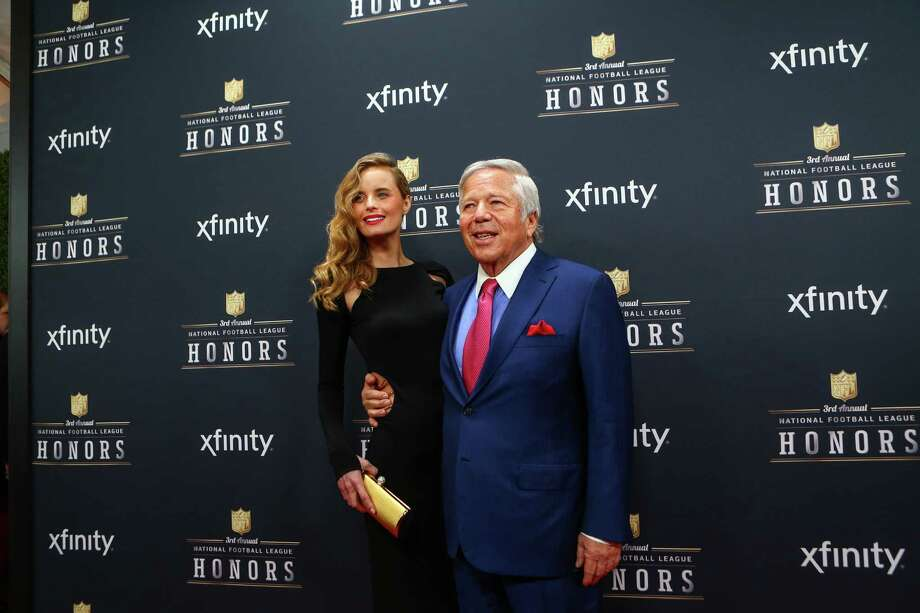 New England Patriots owner Robert Kraft and Ricki Lander walk the red carpet before the NFL Honors awards ceremony on Saturday, February 1, 2014 at Radio City Music Hall in New York City. Photo: JOSHUA TRUJILLO, SEATTLEPI.COM / SEATTLEPI.COM