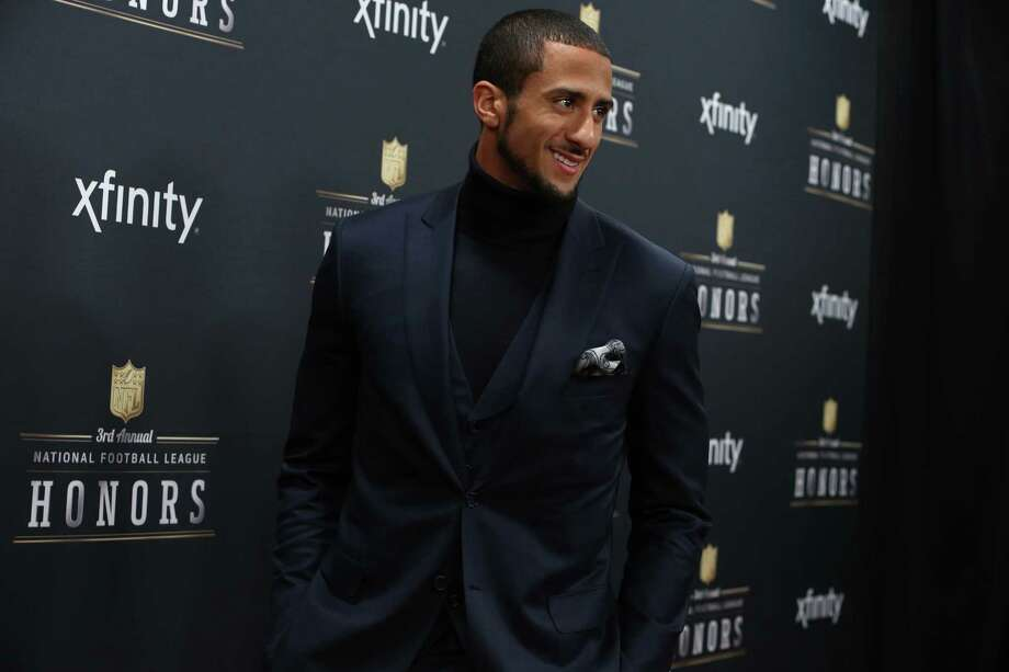 49ers quarterback Colin Kaepernick walks the red carpet before the NFL Honors awards ceremony on Saturday, February 1, 2014 at Radio City Music Hall in New York City. Photo: JOSHUA TRUJILLO, SEATTLEPI.COM / SEATTLEPI.COM