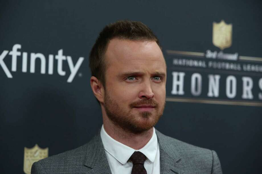 Actor Aaron Paul of Breaking Bad fame walks the red carpet before the NFL Honors awards ceremony on Saturday, February 1, 2014 at Radio City Music Hall in New York City. Photo: JOSHUA TRUJILLO, SEATTLEPI.COM / SEATTLEPI.COM