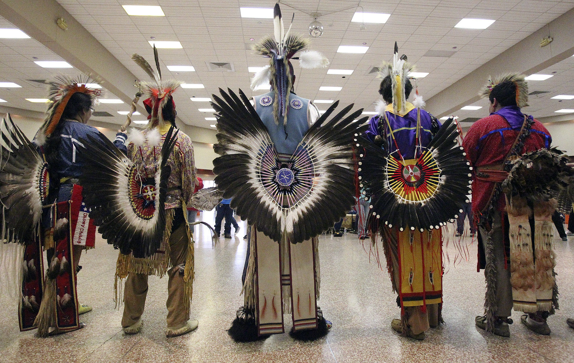 American Indian Tribes Gather For United San Antonio Pow