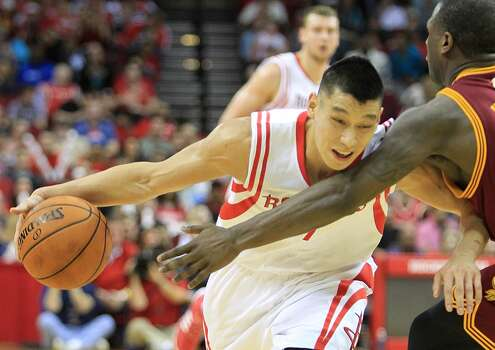 Feb. 1: Rockets 106, Cavaliers 92  Jeremy Lin's first career triple-double led the Rockets to the win over the Cavaliers.  Record: 32-17 Photo: Mayra Beltran, Houston Chronicle