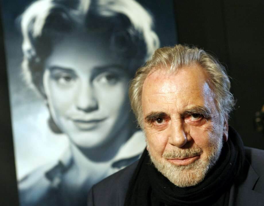 "Maximilian Schell also made movies as a producer and director, including the documentary ""My Sister Maria"" in 2005. A poster for the film is behind him. Photo: Frank Rumpenhorst, Associated Press"