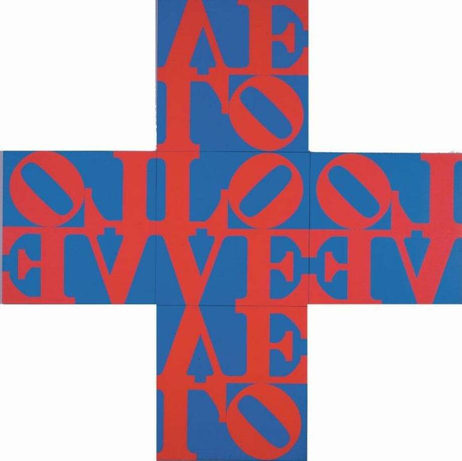 2a39d8095bfd Last chance for Robert Indiana exhibit - San Antonio Express-News