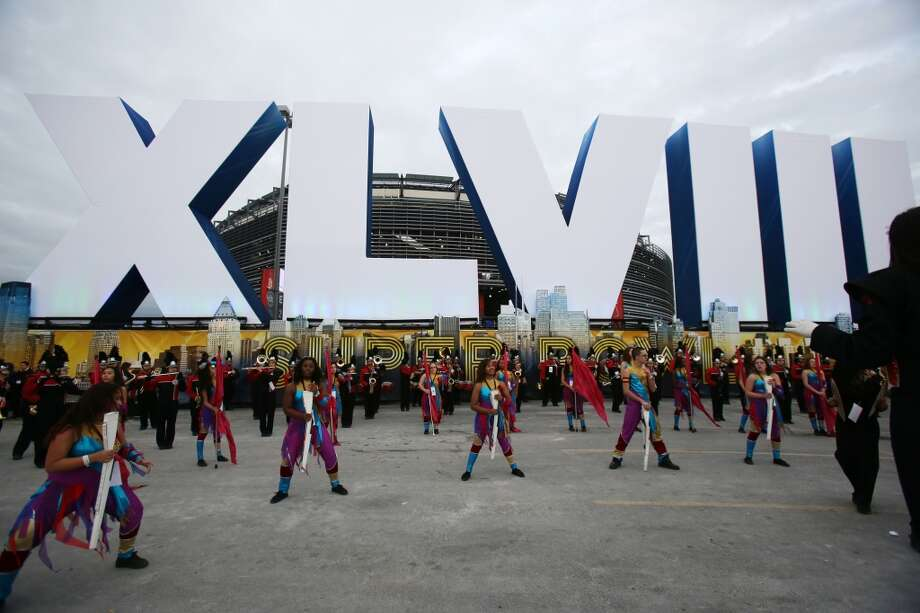 Seattle Seahawks fans outside of MetLife Stadium at Super Bowl XLVIII Sunday, Feb. 2, 2014, in New Jersey. (Joshua Trujillo, seattlepi.com) Photo: JOSHUA TRUJILLO, SEATTLEPI.COM