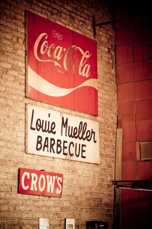 A sign at Louie Mueller Barbecue in Taylor. (Paul Sedillo / For the Chronicle) Photo: Paul Sedillo