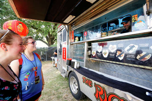 The Rice Box food truck has been seen on Cooking Channel's 'Eat St.' Photo: TODD SPOTH, For The Chronicle / © TODD SPOTH, 2012