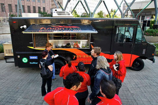 Fusion Taco appeared on Cooking Channel's 'Eat St.' Photo: Michael Paulsen, Houston Chronicle / Houston Chronicle