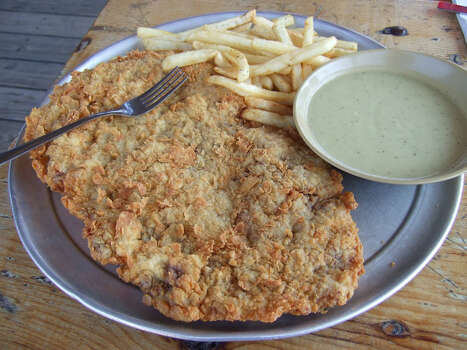 "The chicken fried steak at Hickory Hollow was showcased on ""Outrageous Food."" Photo: J.C. Reid / DirectToArchive"