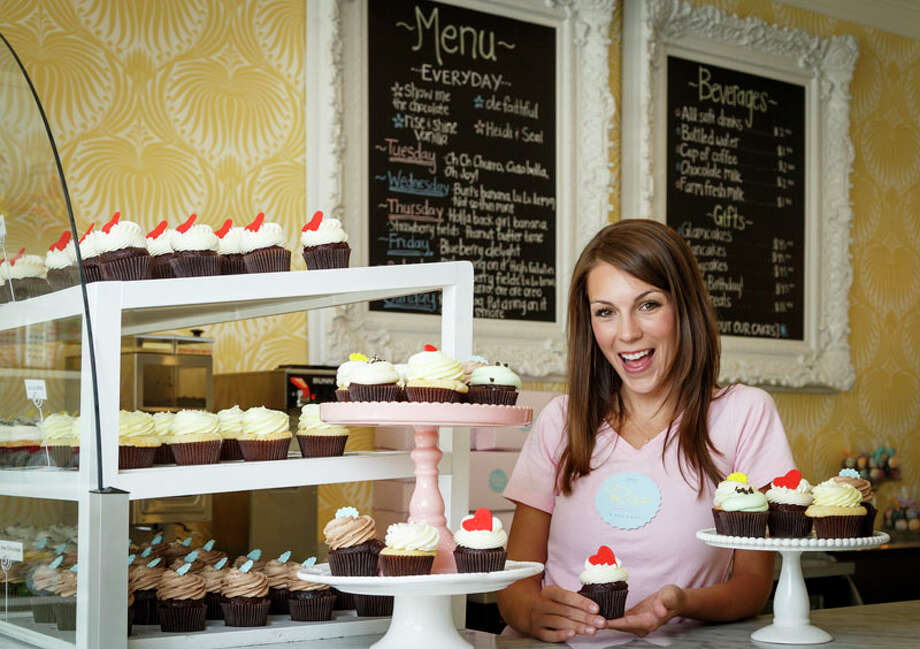 Brittany Todd owner of Rise Cupcakes competed in an episode of the Food Network's 'Cupcake Wars.' Photo: Michael Paulsen, Houston Chronicle / Â 2013 Houston Chronicle