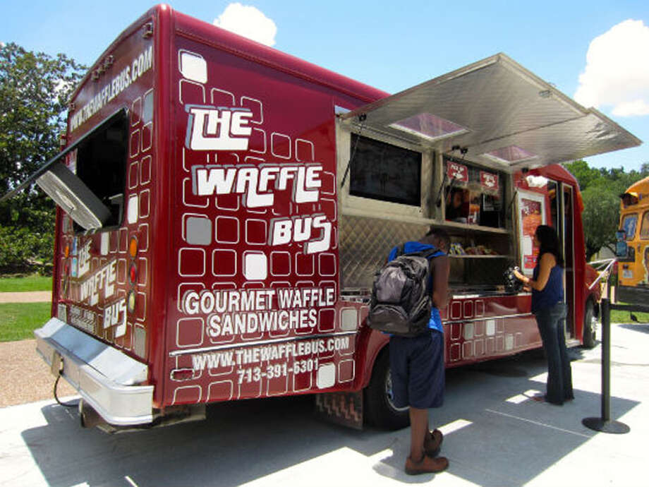 The Waffle Bus has appeared on Cooking Channel's 'Eat St.' Photo: Insight Photo's