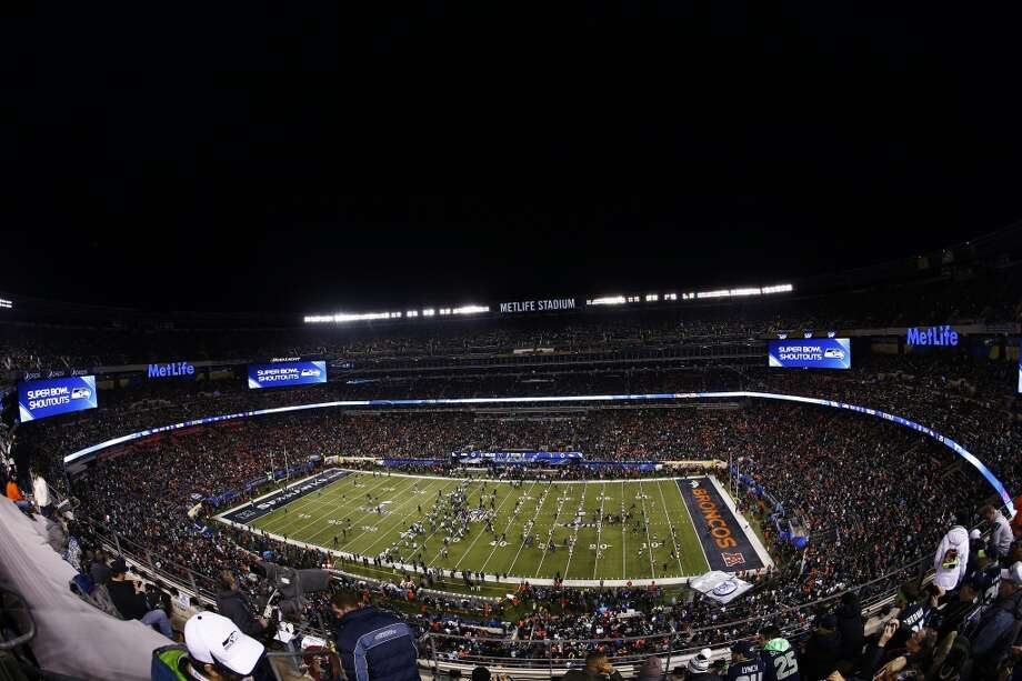 MetLife Stadium prior to the start of Super Bowl XLVIII. Photo: Jeff Zelevansky, Getty Images