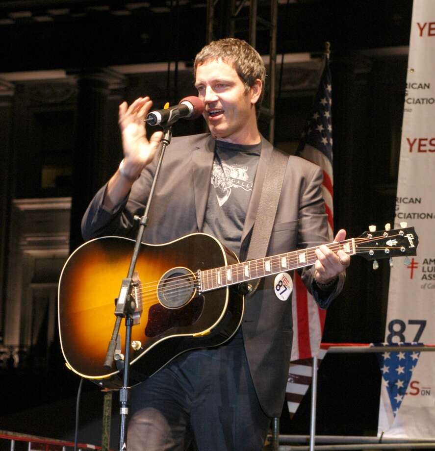 """Third Eye Blind's Stephan Jenkins. We're less-than semi-charmed with the idea of this North Beach resident and musician being labeled as our """"No. 1."""" How many people actually would be able to recognize him in public? Photo: Araya Diaz, WireImage"""