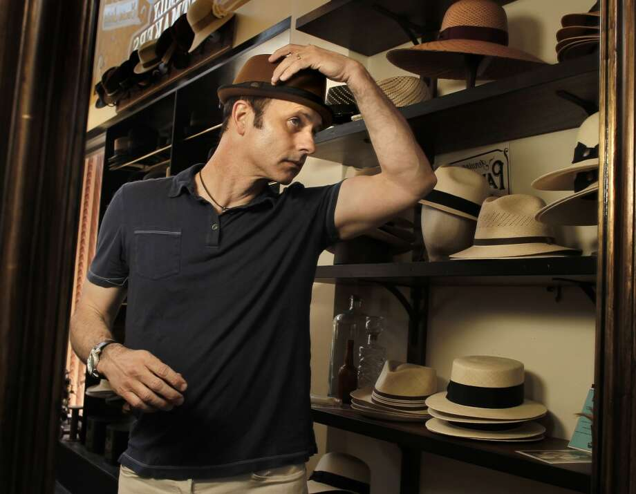 Brian Boitano. The Olympic figure skating champion and S.F. resident was born and raised in the South Bay. His celebrity status could be about to get a major boost, now that he's at the Sochi Games as a gay-rights symbol. Pictured: The Olympic gold medalist visits one of his favorite shops, Goorin Brothers Hats in S.F.'s North Beach neighborhood on Friday May 17, 2013. Photo: Michael Macor, The Chronicle