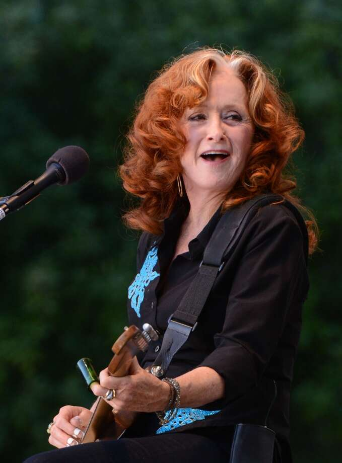 Bonnie Raitt. The nine-time Grammy winner and Rock and Roll Hall of Fame inductee played at the Hardly Strictly Bluegrass festival for her first time last year (pictured), not long after she released her first album in 10 years. Photo: C Flanigan, FilmMagic