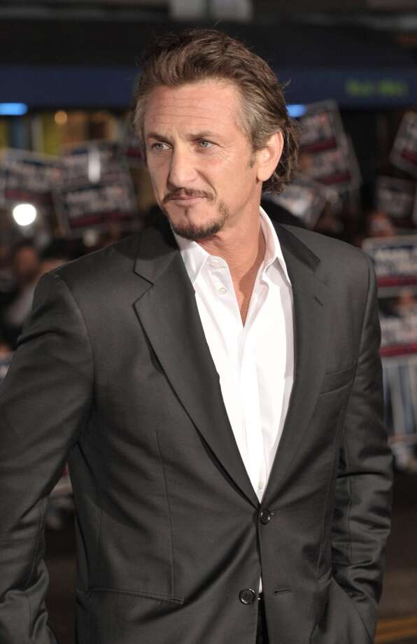 "Actor Sean Penn lived in the Bay Area for many years, but we don't know where he ended up after selling his Ross home with his ex-wife Robin Wright Penn in 2010. He recently made headlines when he lashed out on a S.F. fan while visiting the city for Dreamforce 2013. Pictured: Penn attends the premiere of ""Milk""  at the Castro Theater on October 28, 2008 in S.F. Photo: Steve Jennings, WireImage"