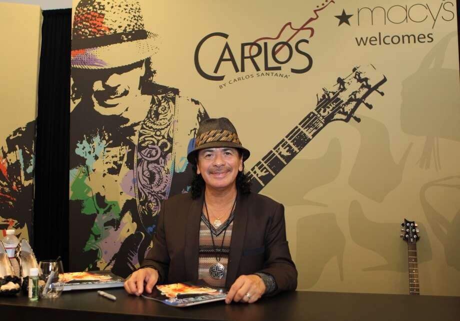 "Latin guitarist and longtime Marin County resident Carlos Santana, has opened three of his five ""Maria Maria"" restaurants in the Bay Area (Danville, Walnut Creek and Mill Valley).  Pictured: Santana attends Fashions's Night Out at Macy's Union Square on September 10, 2010 in S.F. Photo: Trisha Leeper"