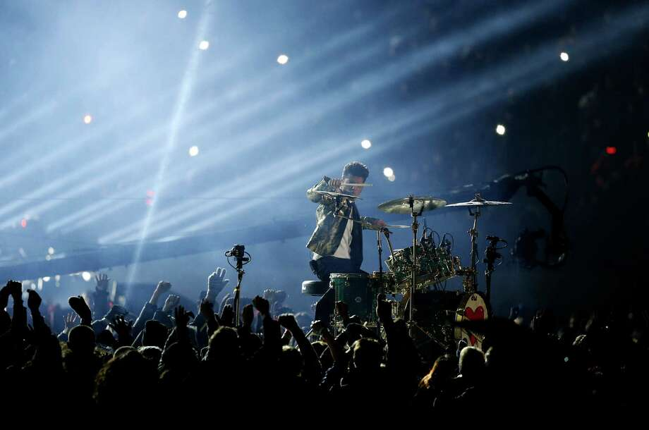 Bruno Mars performs during the halftime show of the NFL Super Bowl XLVIII football game between the Seattle Seahawks and the Denver Broncos Sunday, Feb. 2, 2014, in East Rutherford, N.J. Photo: Kathy Willens, AP / AP