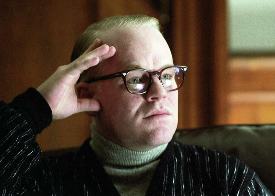 "Philip Seymour Hoffman won an Oscar portraying author Truman Capote in the 2005 film ""Capote.""  Photo: ATTILA DOROY, HONS / SONY PICTURES CLASSICS"