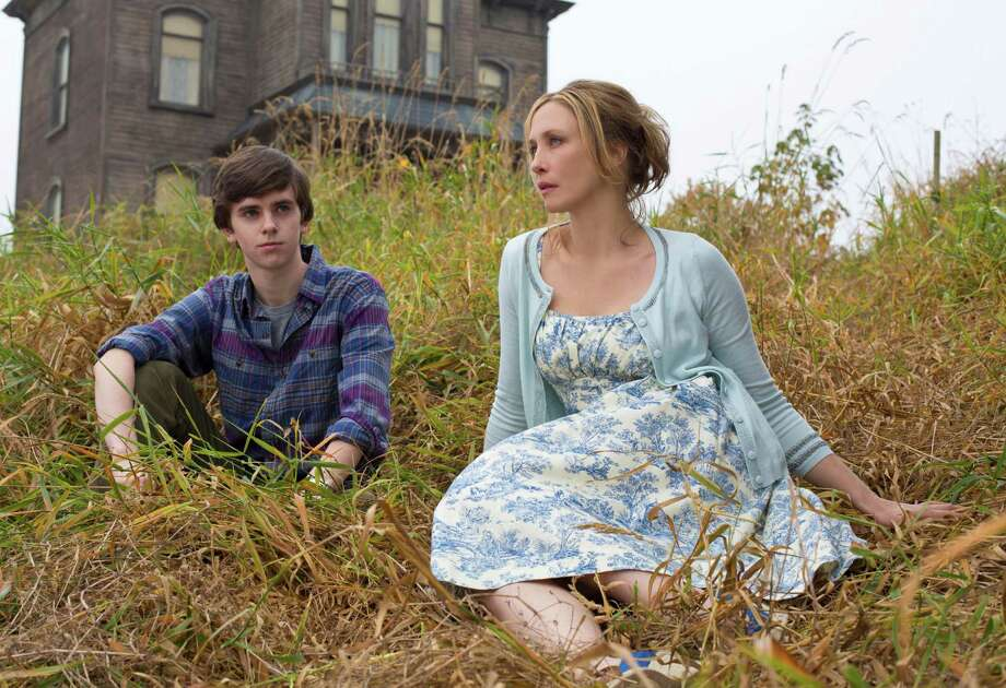 "Vera Farmiga stars with Freddie Highmore in ""Bates Motel,"" a ""Psycho"" prequel. Available: Feb. 1. / San Antonio Express-News"