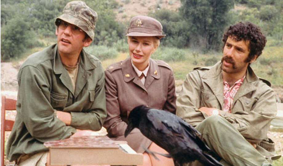 Director Robert Altman's thinly veiled Vietnam War satire is indicative of when the spirit of the 1970s went mainstream, with Elliot Gould, Donald Sutherland and Tom Skerritt as Army doctors fighting military insanity and healing wounded soldiers during the Korean War. Featuring an Oscar-winning score and standout work from a huge ensemble cast (including Robert Duvall and Sally Kellerman), M*A*S*H is a masterpiece of '70s cinema. Available Feb. 1 Photo: Copyright © 20th Century Fox Licensing/Merchandising / Everett Collection / Copyright © 20th Century Fox Licensing/Merchandising / Everett Collection