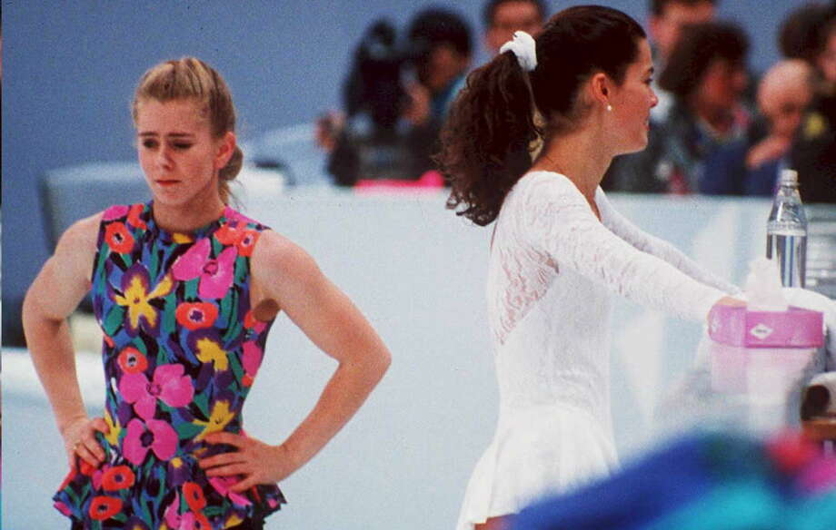 """""""The Price of Gold"""" takes a fresh look at the scandal surrounding figure skater Tonya Harding's involvement with the attack on competitor Nancy Kerrigan prior to the 1994 Winter Olympics in Lillehammer. Available Feb. 6 Photo: VINCENT ALMAVY, Getty Images / AFP"""