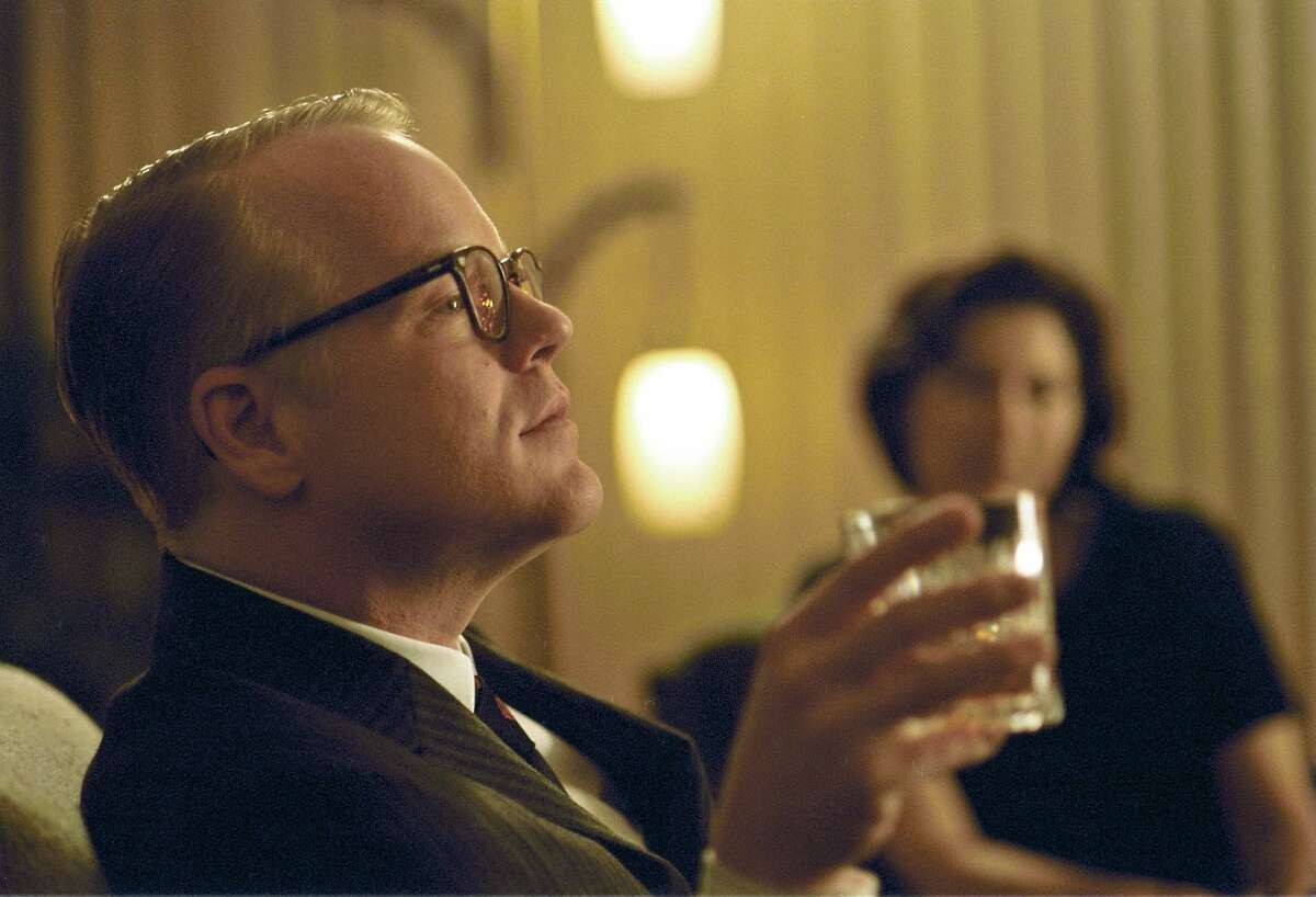 ** ADVANCE FOR SATURDAY, FEB. 11 **FILE**In this undated photo released by Sony Pictures Classics, Philip Seymour Hoffman portrays writer Truman Capote in a scene from the film,