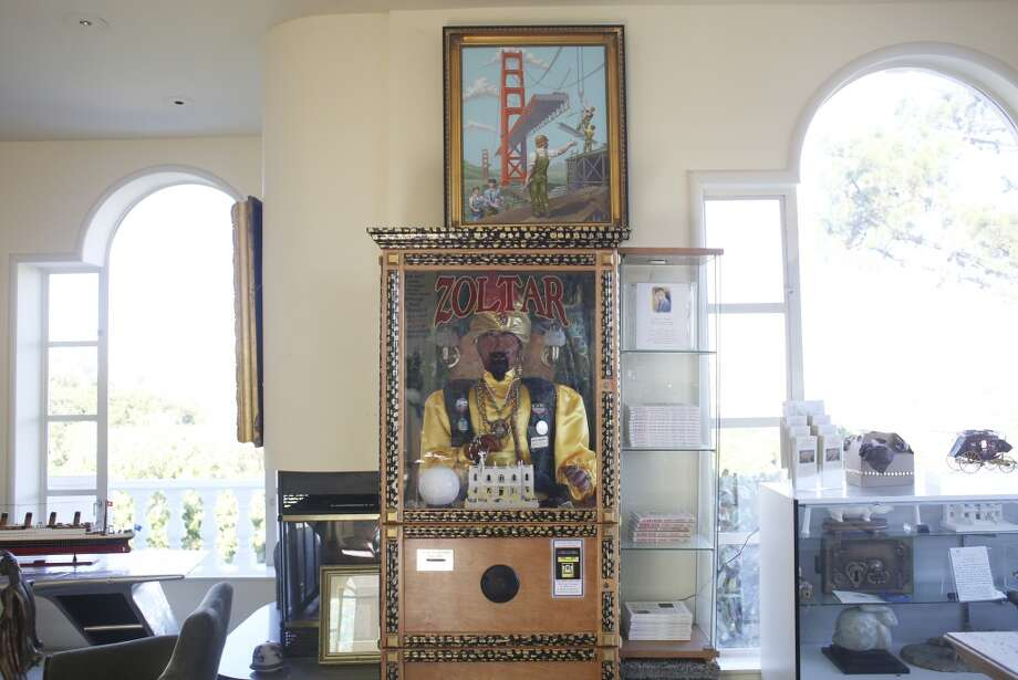 "A ZOLTAR fortune telling machine like the one in the move ""Big"" is on display at The Pritikin Museum in San Francisco, Calif. Photo: The Chronicle"