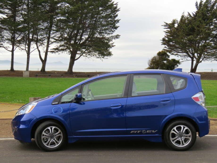The all-electric version of the Honda Fit is a variation on the ubiquitous description of the Fit as the Swiss Army knife of small cars. (All photos by Michael Taylor)