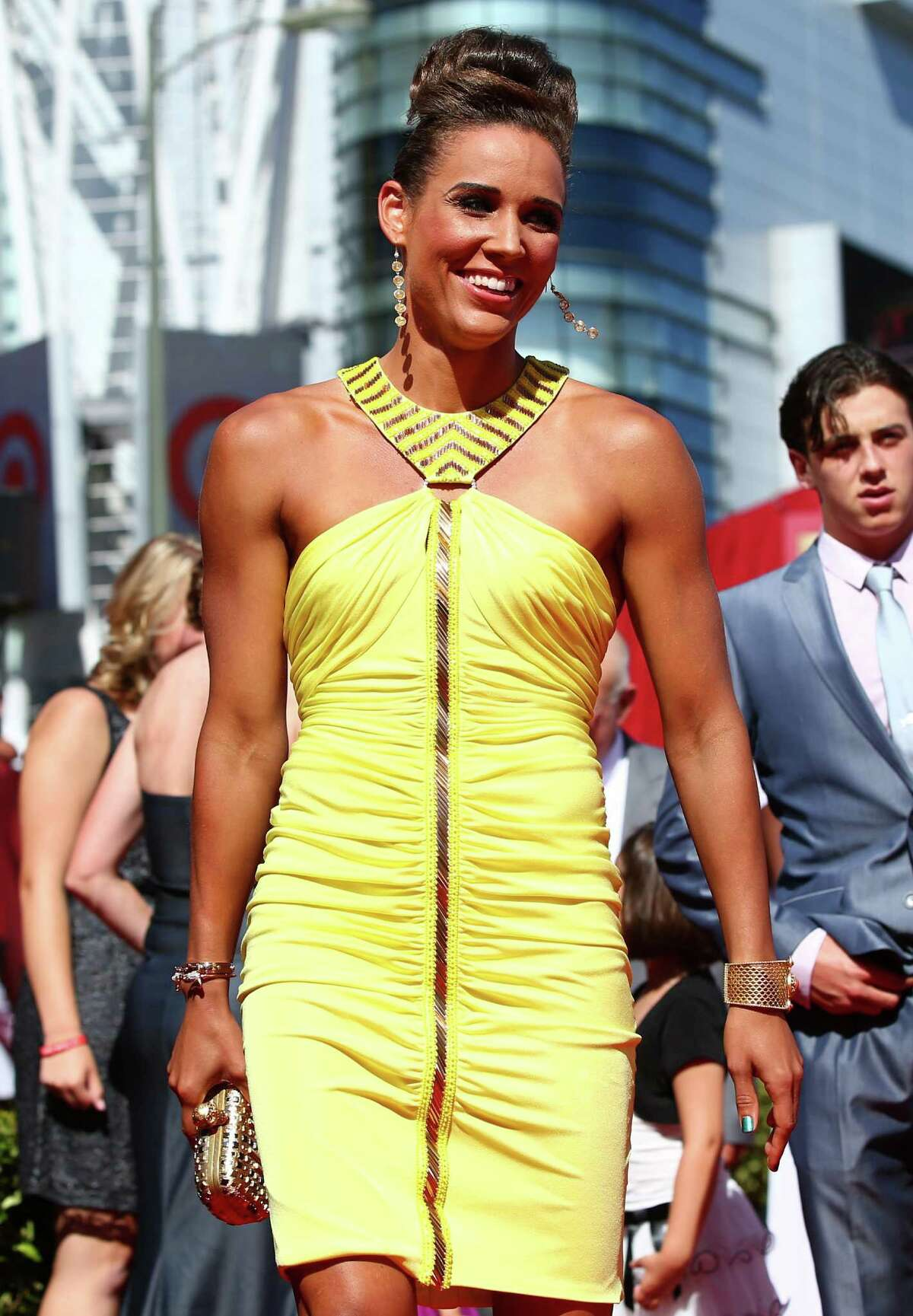 LOS ANGELES, CA - JULY 17: Track and Field athlete Lolo Jones attends The 2013 ESPY Awards at Nokia Theatre L.A. Live on July 17, 2013 in Los Angeles, California. (Photo by Christopher Polk/Getty Images for ESPY) ORG XMIT: 173416763