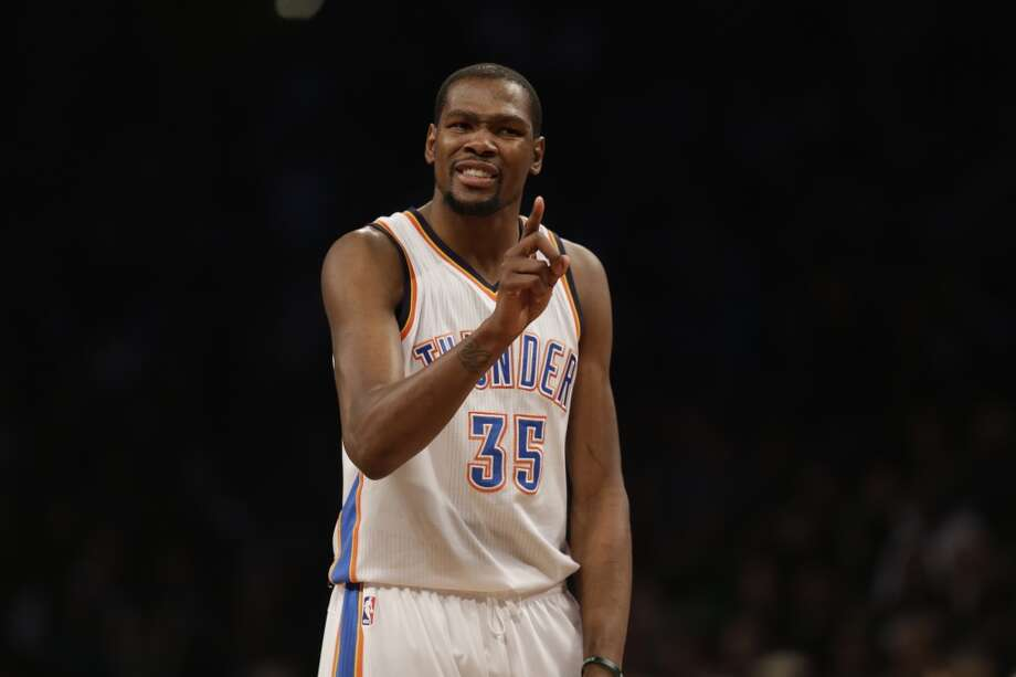 1. Thunder (38-11)  January ranking: 1 December ranking: 5 Preseason ranking: 6 Kevin Durant's 30-point scoring streak and Thunder's 10-game winning streak ended over the weekend, but OKC rolled more than enough to keep the Thunder on top. Photo: Seth Wenig, Associated Press