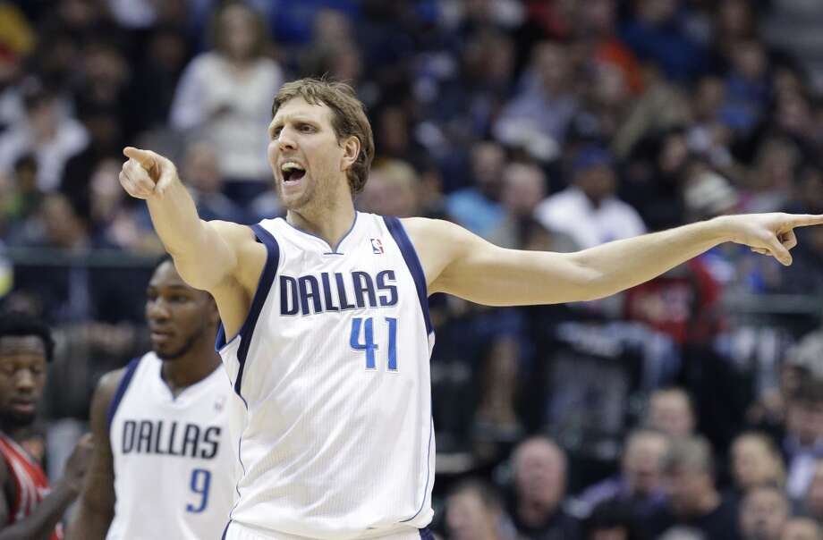 12. Mavericks (27-21)  January ranking: 12 December ranking: 10 Preseason ranking: 17 Dirk Nowitzki had consecutive 30-point games for the first time this season and seems to be growing stronger on his way back to the All Star game. But with little chance of contending with the current roster, the Mavs will have to consider moving veterans Shawn Marion and Vince Carter to do at least some rebuilding. Photo: LM Otero, Associated Press