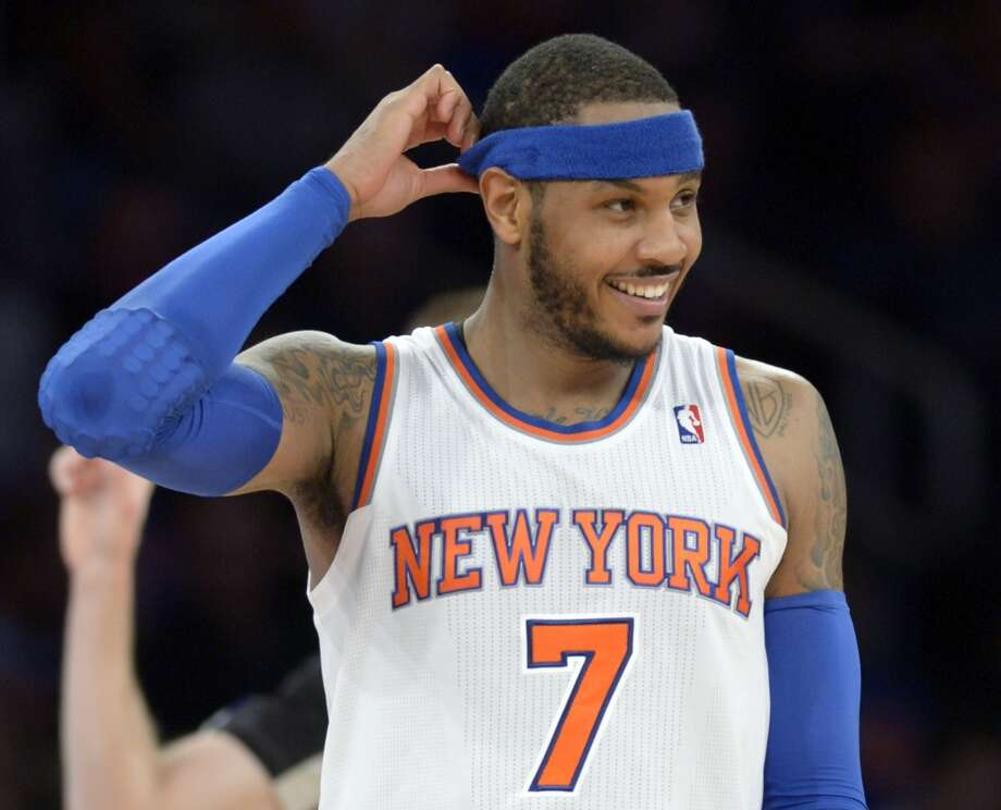 19.	Knicks (19-28)  Januray ranking: 23 December ranking: 30 Preseason ranking: 10 The Knicks had been on a bit of a roll before the Heat took them apart on Saturday. But they seemed to have accepted that they can go only as far as Carmelo Anthony takes them. He averaged 35.7 points in the five games before limited to 26 by the Heat. Photo: Bill Kostroun, Associated Press