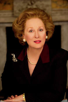 """The Iron Lady"" - Meryl Streep stars in this biopic of British prime minister Margaret Thatcher.Best Actress (Meryl Streep)Best MakeupRelated: Full list of nominees for the 86th Academy Awards Photo: Alex Bailey, AP / AP2011"
