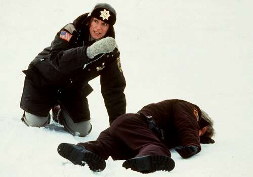 """Fargo"" - A pregnant police officer investigates a small-town murder-for-hire in this quirky crime comedy.Best Actress (Frances McDormand)Best Original ScreenplayRelated: Full list of nominees for the 86th Academy Awards Photo: Gramercy Pictures, Associated Press / GRAMERCY PICTURES"