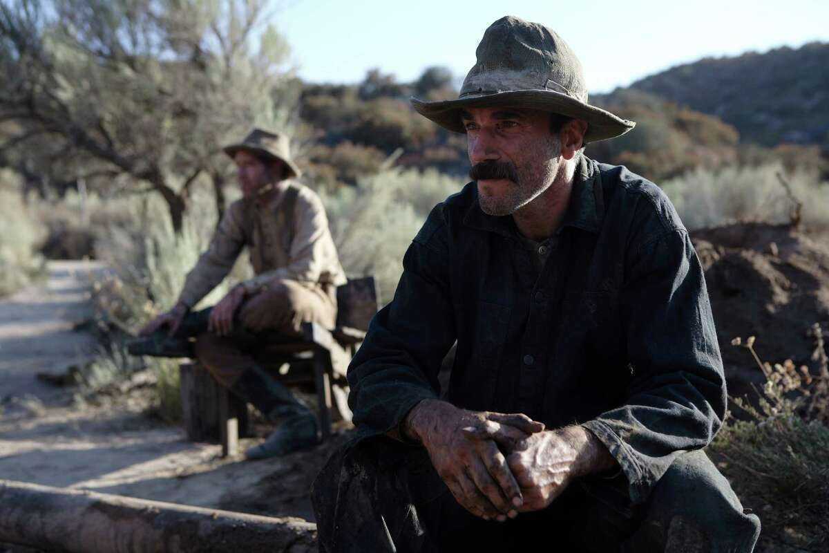 """""""There Will Be Blood"""" - A self-centered oil tycoon feuds wih a young, country preacher. Best Actor (Daniel Day-Lewis) Best Cinematography Related: Full list of nominees for the 86th Academy Awards"""