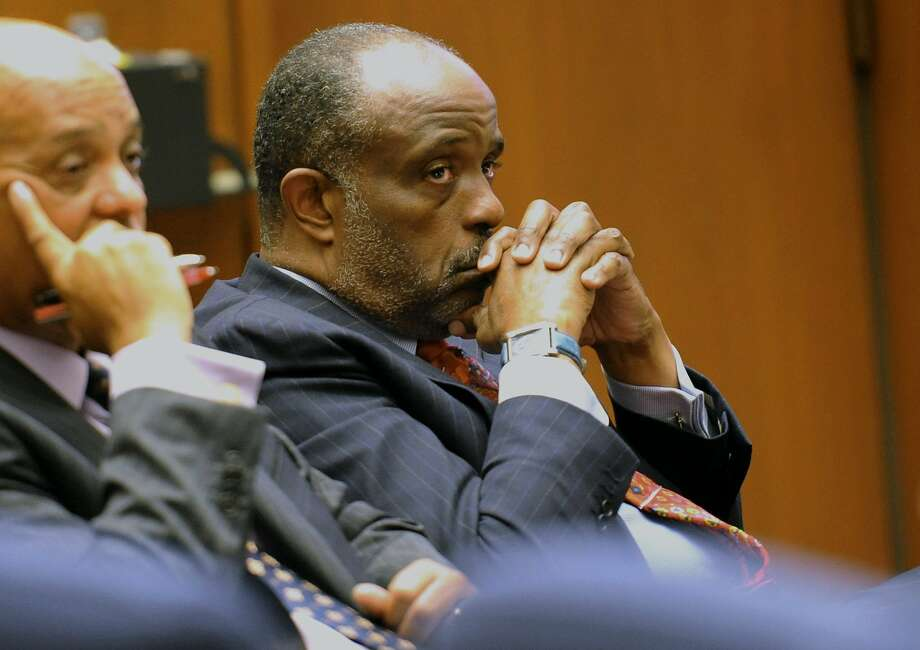 Sen. Roderick Wright listens to testimony during his trial. Photo: Stephen Carr, Associated Press