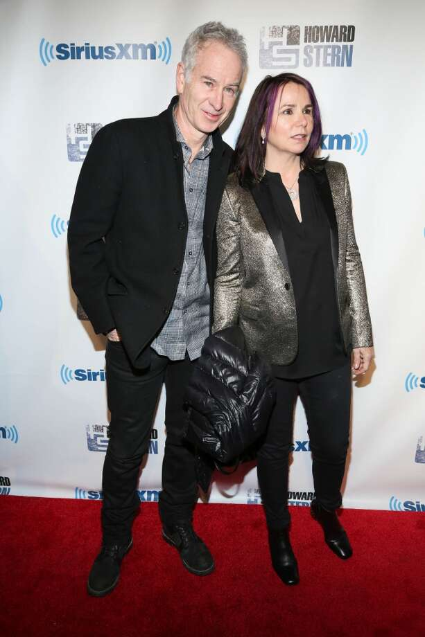 "Patty Smyth and John McEnroe attend SiriusXM's ""Howard Stern Birthday Bash"" at Hammerstein Ballroom on January 31, 2014 in New York City. Photo: Rob Kim, Getty Images"
