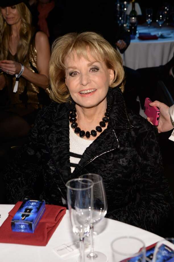 "Barbara Walters attends ""Howard Stern's Birthday Bash"" presented by SiriusXM, produced by Howard Stern Productions at Hammerstein Ballroom on January 31, 2014 in New York City. Photo: Larry Busacca, Getty Images For SiriusXM"