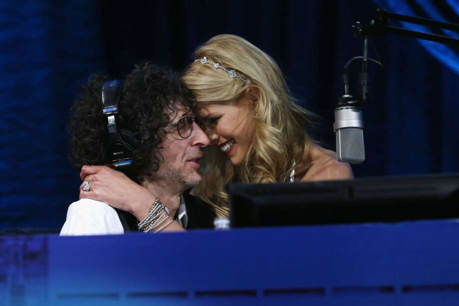 "Howard Stern and Beth Ostrosky Stern attend ""Howard Stern's Birthday Bash"" presented by SiriusXM, produced by Howard Stern Productions at Hammerstein Ballroom on January 31, 2014 in New York City. Photo: Larry Busacca, Getty Images For SiriusXM"