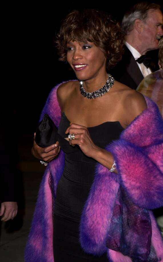 Whitney Houston in 2001. Photo: J. Vespa, WireImage