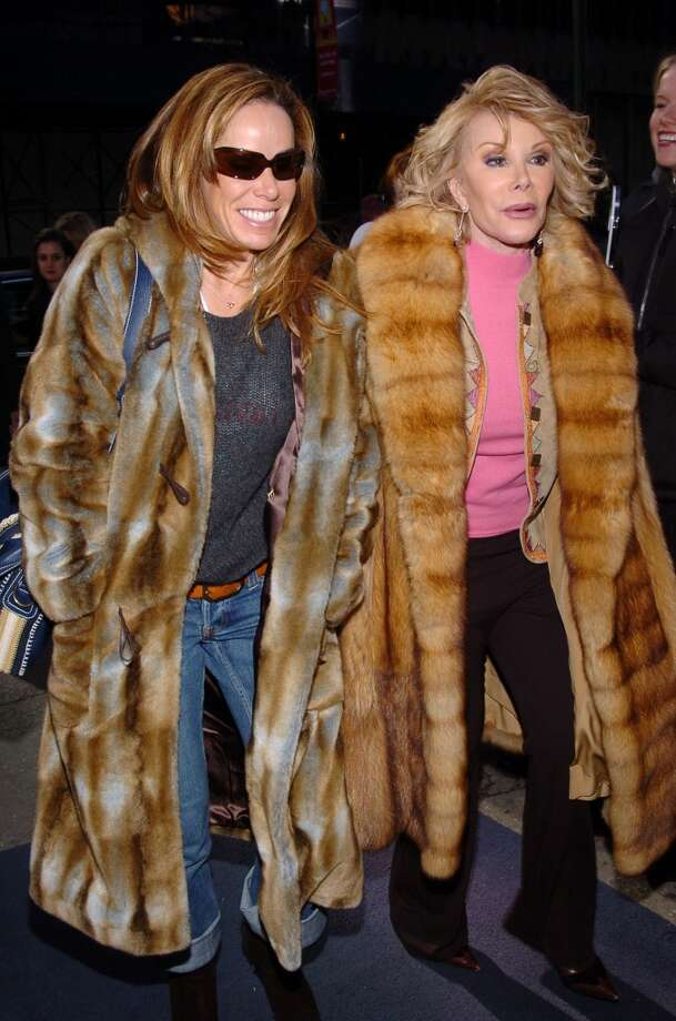 Melissa Rivers and Joan Rivers in 2005. Photo: Lawrence Lucier, FilmMagic